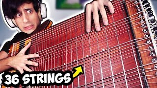 36 STRINGS BASS SOLO (World Record)