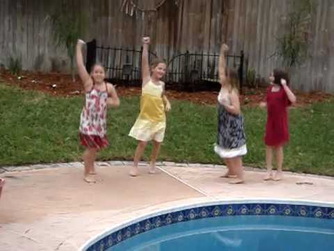 Mary Snyder Wedding Shower Girls Macho Man Dance M...