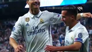 Trọn bộ 12 bàn thắng giúp Cristiano Ronaldo trở thành Vua phá lưới Champions League 2016/17 👍😱😱