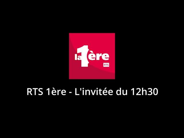 RTS 1ère - l'invité du 12h30