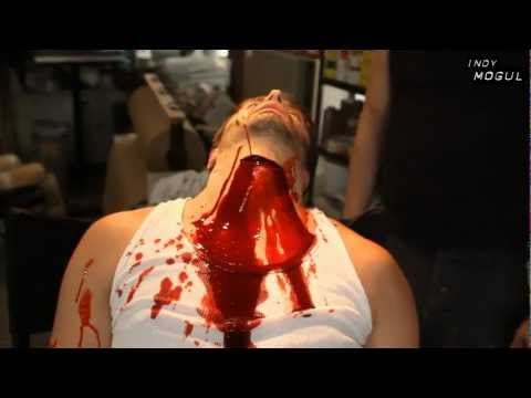 Throat Slit Effect 56