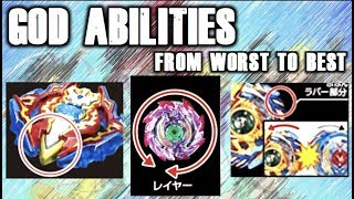Ranking All Beyblade God/SwitchStrike Abilities