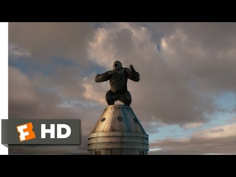 King Kong (9/10) Movie CLIP - Kong Battles...