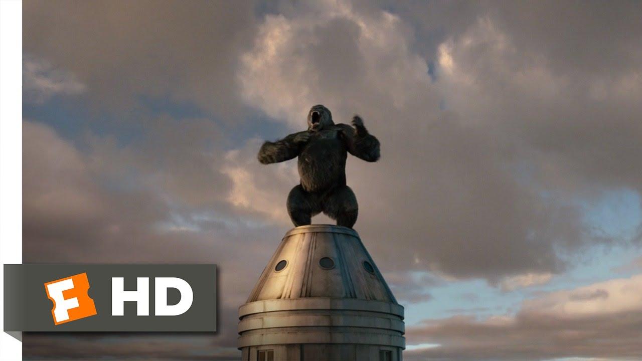 King Kong 910 Movie Clip Kong Battles The Airplanes 2005 Hd
