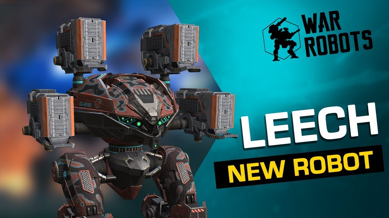 NEW ROBOT Leech | War Robots Overview