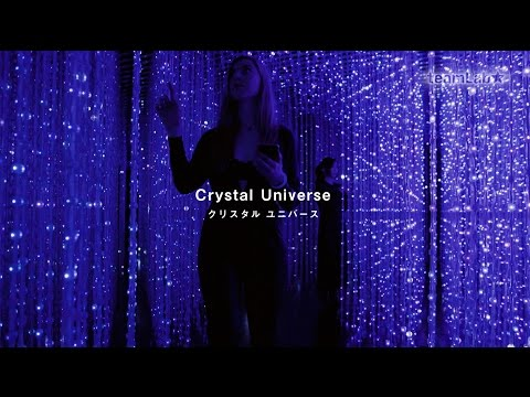 Crystal Universe / teamLab: Living Digital Space and Future Parks