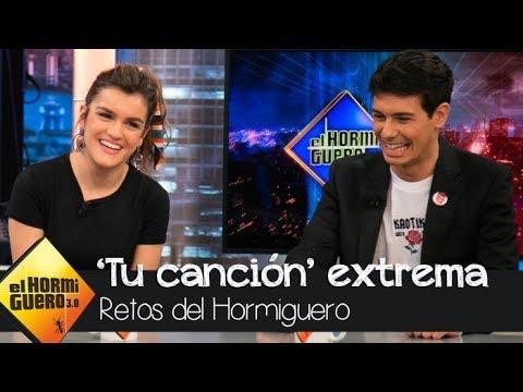 Amaia y Alfred interpretan 'Tu canción' a dúo extremo - El Hormiguero 3.0