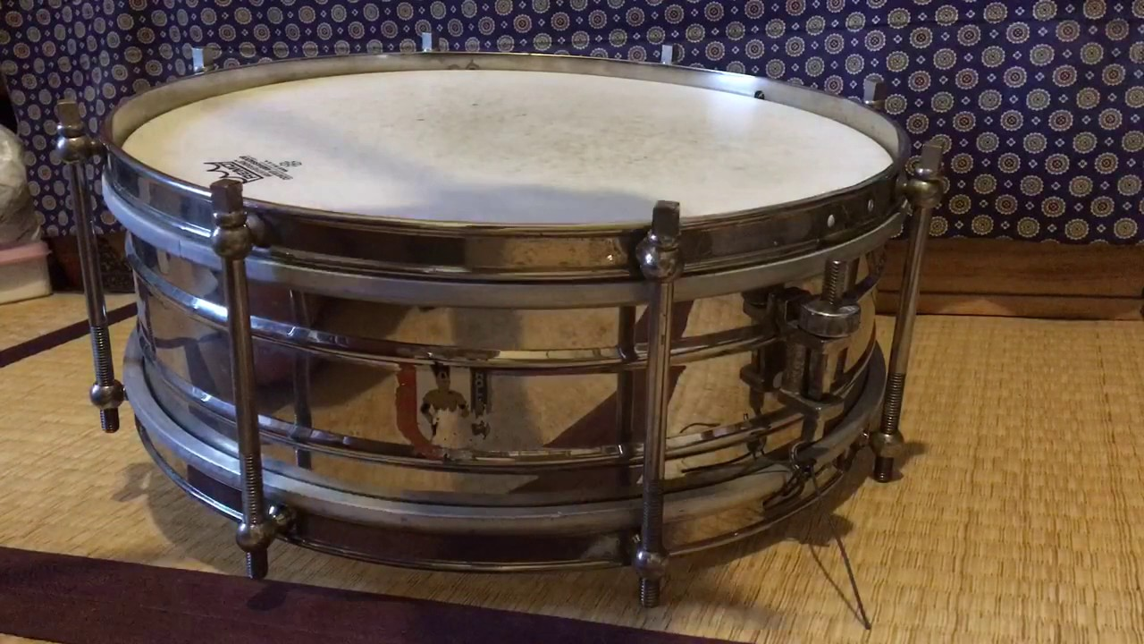 vintage sonor type snare drum 1900 youtube. Black Bedroom Furniture Sets. Home Design Ideas