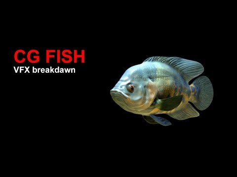 "CGI VFX Breakdowns HD: ""Aquarium Pet  Fish"" - by VFX Rigging Artist Deepesh Kubal"