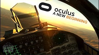 DCS World 2.0 | My First Flight | Oculus Rift