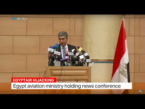 Egyptian aviation ministry holding news conference