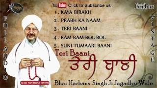 Jukebox | Bhai Harbans Singh ji | Teri Baani | Shabad Gurbani | Kirtan | Full Album | Audio