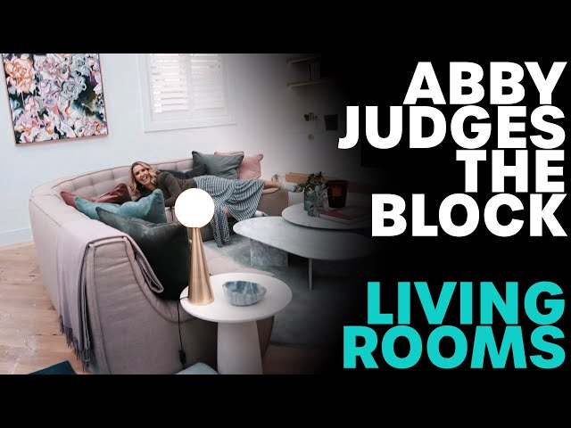 Did Abby Get It Right? (The Block: Living Rooms) | B105