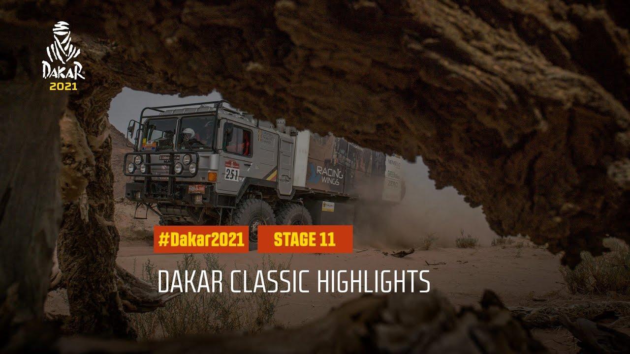 #DAKAR2021 - Stage 11 - AlUla / Yanbu - Dakar Classic Highlights