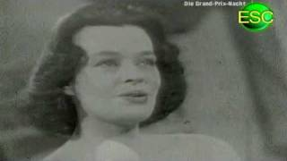 ESC 1957 07 - Germany - Margot Hielscher - Telefon, Telefon