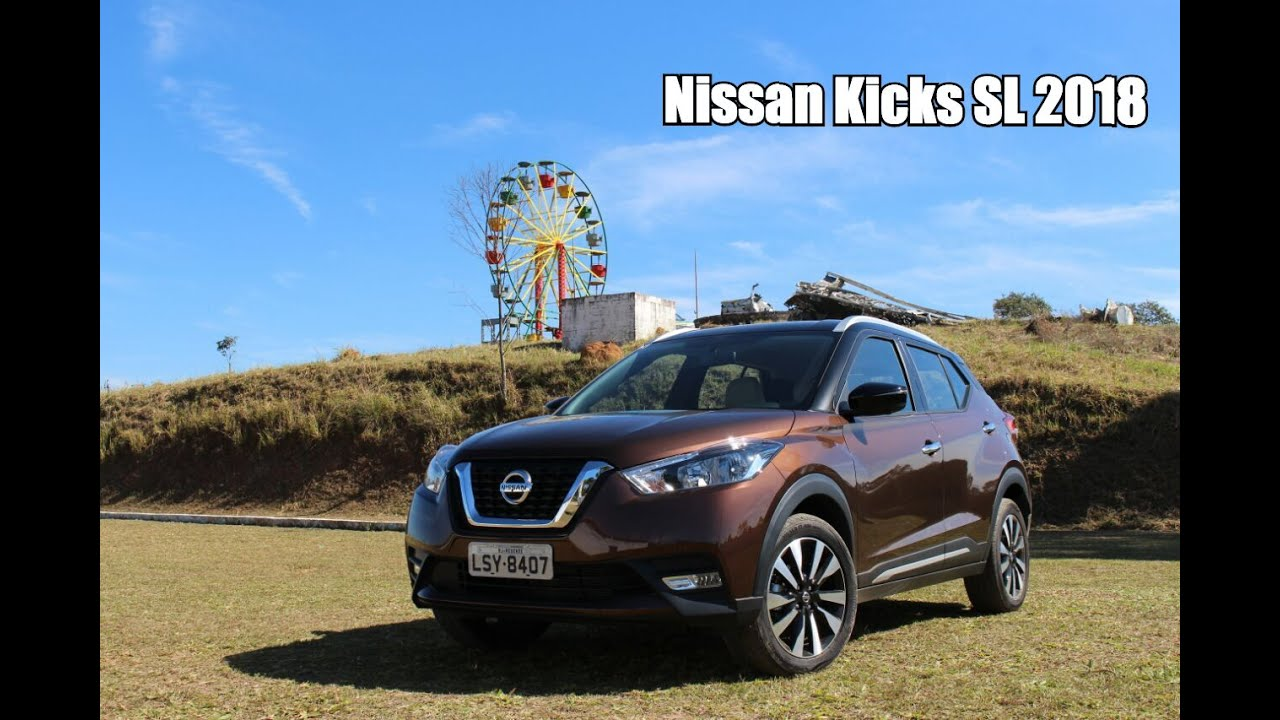 Nissan Kicks 2018 SL 1.6 CVT - Falando de Carro - YouTube