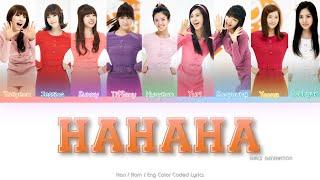 Girls' Generation (소녀시대) HaHaHa Color Coded Lyrics (Han/Rom/…