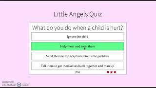 LAD Nurse Quiz Answers | Roblox
