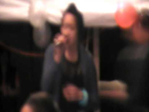 Nikita Tapiki singing Maisey Rika's Te...