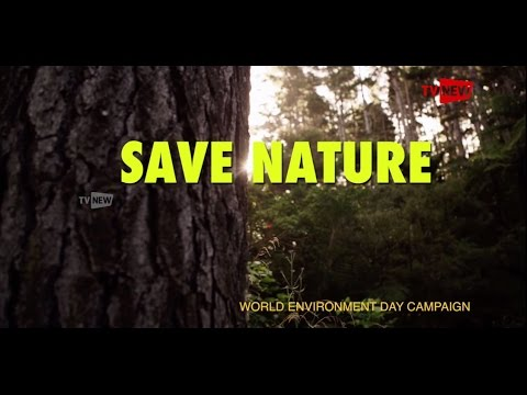 SAVE NATURE - World Environment Day Campaign | Tv New