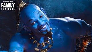 ALADDIN 2019   New Grammys trailer introduces Will Smith's Blue Genie