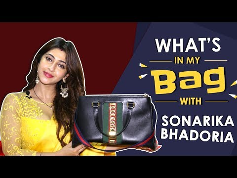 What's In My Bag With Sonarika Bhadoria   Bag Secrets Revealed   India Forums