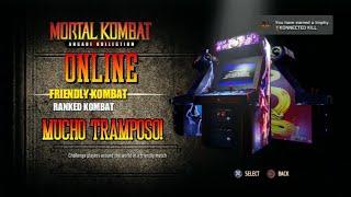 PS3 Mortal Kombat Arcade Kollection - Partidas Multijugador