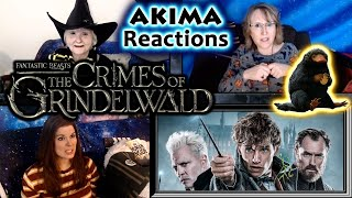 Fantastic Beasts 2 | The Crimes of Grindelwald | AKIMA Reactions