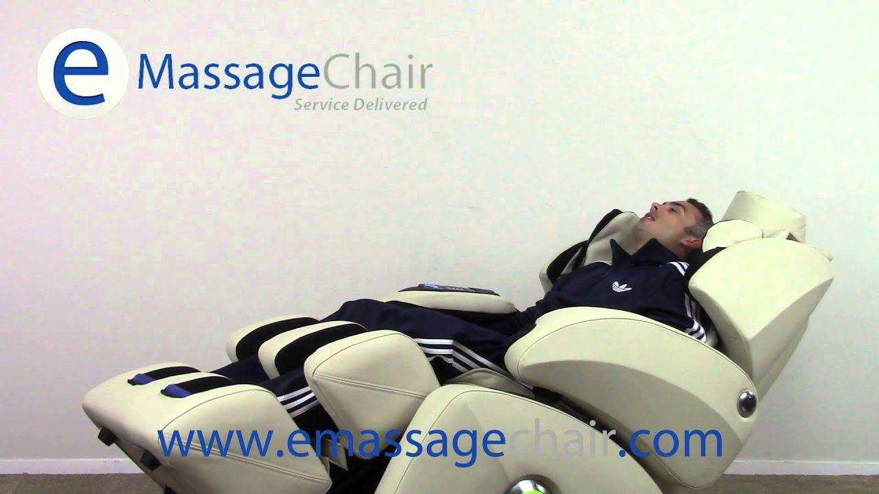 Osaki OS 7075R Massage Chair Video Zero Gravity