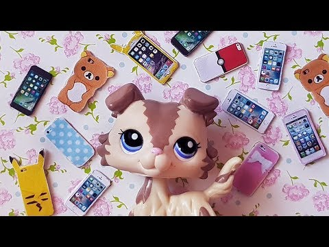 DIY LPS Phones! How to make phones for your LPS , Dolls & MLP !