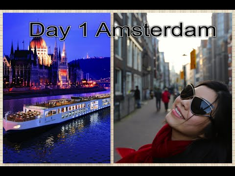 {Viking River Cruise}  Follow me on my Grand European 15 Days Tour - Day 1 [Amsterdam]