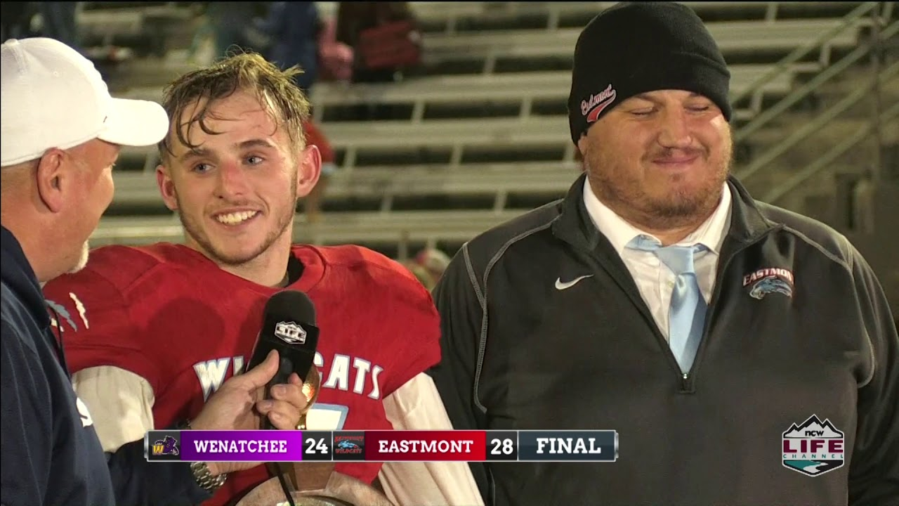 Wenatchee at Eastmont Football Highlights 2019-11-07