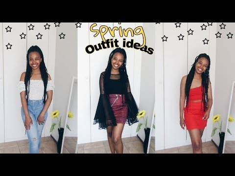 [VIDEO] - Spring/Summer Outfit Ideas | South African Youtuber 2