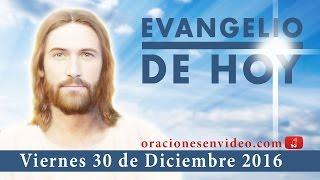 Evangelio de Hoy Viernes 30 de Diciembre 2016 todo lo que digan y todo lo que hagan
