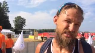 Ruslans Sorokins talks about the win against Brazil