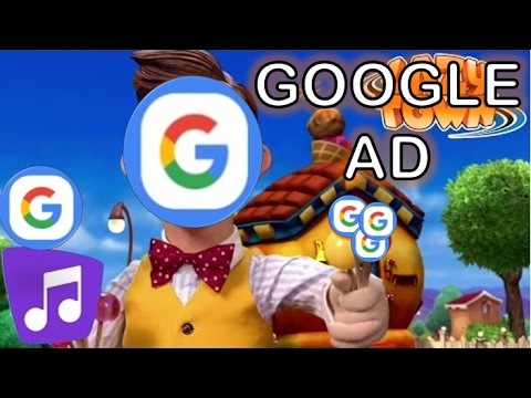 The Mine Song but it's a GOOGLE AD