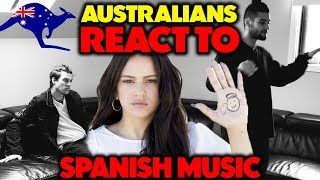 AUSTRALIANS REACT TO: SPANISH MUSIC | ROSALÍA - MALAMENTE REACTION