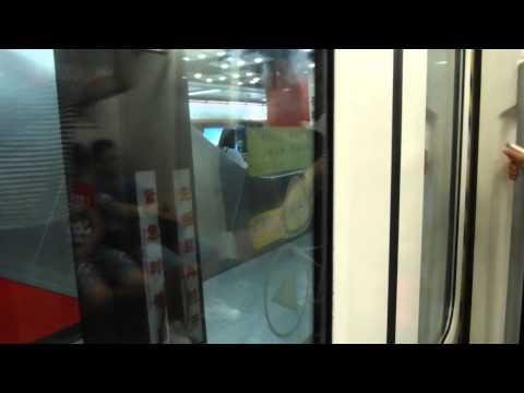 Guangzhou Metro Line 3 - Gangding (岗顶) → Tiyu Xilu (体育西路)(8/2/2015)