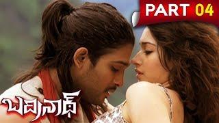 Badrinath Telugu Full Movie || Allu Arjun, Tamanna || Part 4
