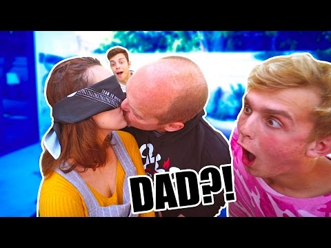 Thumbnail: KISSING CONTEST.. (ME vs. MY DAD)
