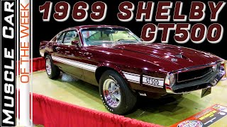 1969 Shelby GT500 Muscle Car Of The Week Episode 364