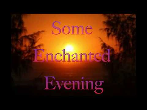Some Enchanted Evening - Karaoke version