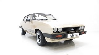 A Truly Stunning Ford Capri 3.0S Professionally Restored to Show Standard. SOLD!
