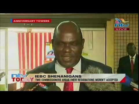 IEBC chairman Wafula Chebukati rejects return of IEBC commissioners