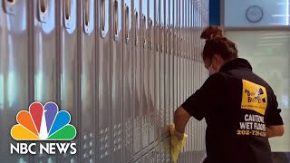 A New Crisis At The U.S. Southern Border: COVID-19 | NBC News NOW