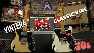 Fender VS Squier: The '70s Deluxe Tele Comparison