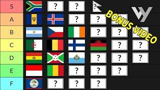 WonderWhy Flag Tier List (Bonus Video)