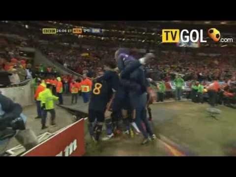 World Cup 2010 Final Holland vs Spain