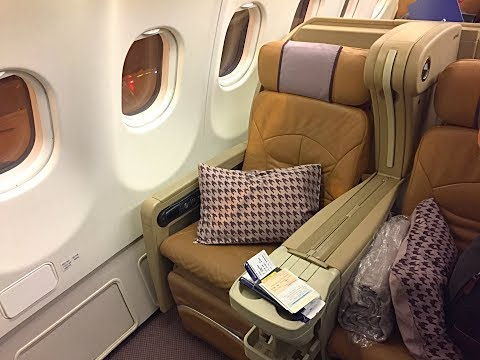 Singapore Airlines Business Class| A330-300| Singapore - Seoul