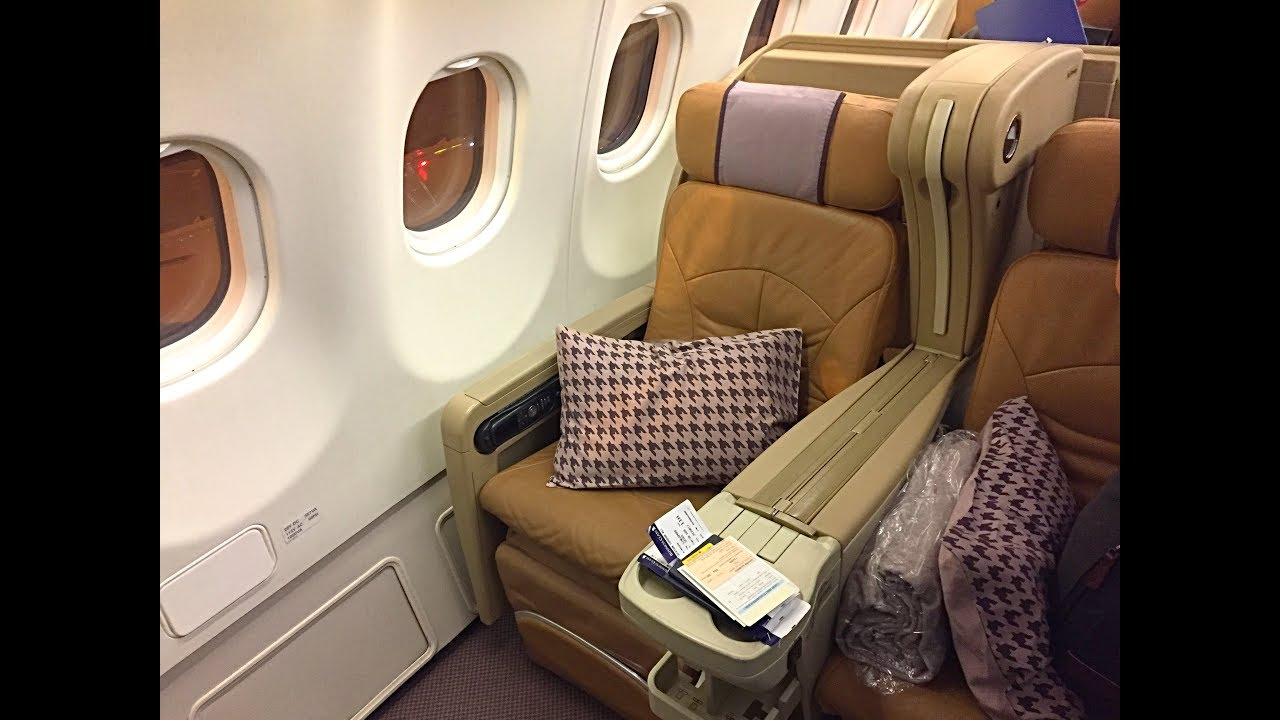 Singapore Airlines Business Class| A330-300| Singapore - Seoul - YouTube